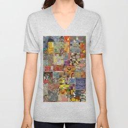 Paul Klee Montage Unisex V-Neck
