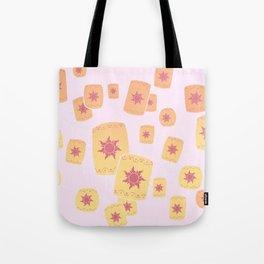 Lost Princess Lanterns Tote Bag