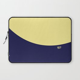 COLOUR COUPLES CANARY YELLOW AND BLUE Laptop Sleeve