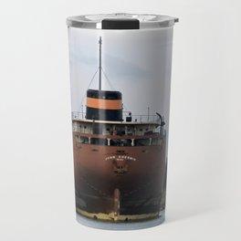 John Sherwin Freighter Travel Mug