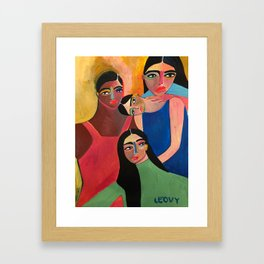 Support System Framed Art Print