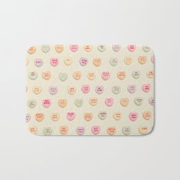 what does your heart say? Bath Mat