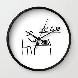 laboratory assistant lab Wall Clock