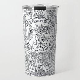 Satanic Rock Travel Mug