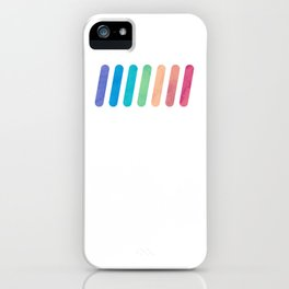 Rainbow I iPhone Case