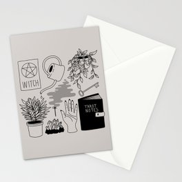 Witchy Treasures Stationery Cards