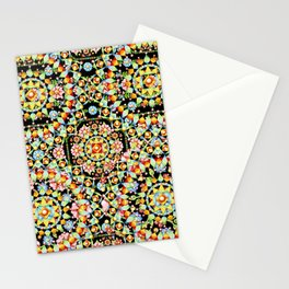Flower Crown Bohemian Stationery Cards