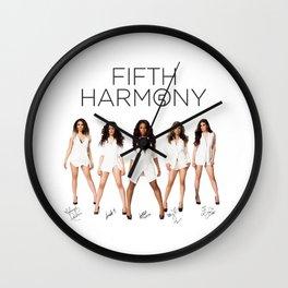 Fifth Harmony - signatures Wall Clock