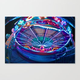 Round and Round Canvas Print