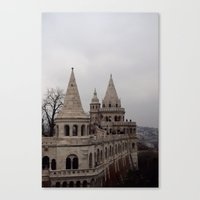 budapest Canvas Prints featuring Budapest by L'Ale shop
