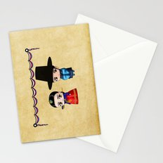 Korean Chibis Stationery Cards