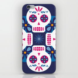 Talavera Blue iPhone Skin