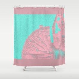 Quan Yin - Aqua 2 Shower Curtain