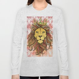 King The Lion Long Sleeve T-shirt
