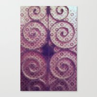 cycle Canvas Prints featuring cycle by Claudia Drossert