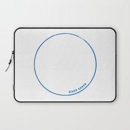 Blank Space Laptop Sleeve