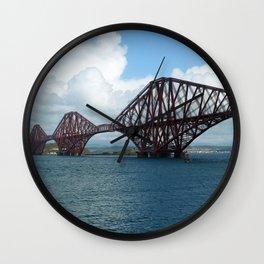 Forth Bridge, Scotland Wall Clock