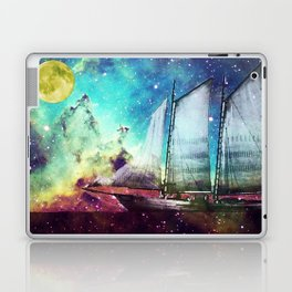Galileo's Dream - Schooner Art By Sharon Cummings Laptop & iPad Skin