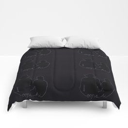Oops Hi Pattern I Comforters