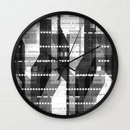 Architecture Lightning Wall Clock