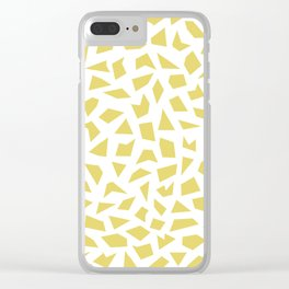 Gold Flake Clear iPhone Case