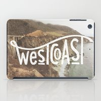 west coast iPad Cases featuring West Coast by cabin supply co