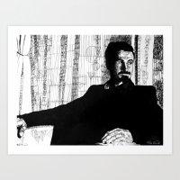 Circles, Squares, Serj Art Print