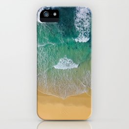 Ocean from the sky iPhone Case
