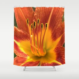 Flower CC Shower Curtain