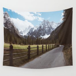 Let's hike together - Landscape and Nature Photography Wall Tapestry