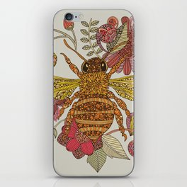 Bee awesome iPhone Skin