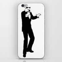 storm trooper iPhone & iPod Skins featuring Trooper... Storm Trooper 3 by Derek Donovan