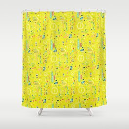 Parts Shower Curtain