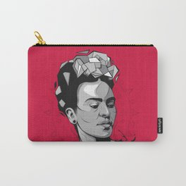 Frida Kahlo - Trinchera Creativa Carry-All Pouch