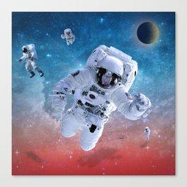 space astronaut Canvas Print