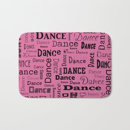 Just Dance - Pink Bath Mat
