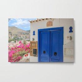 The Way to Greece VI Metal Print