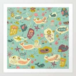 Seafarers! Art Print