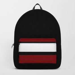 Team Colors 2...Maroon/white Backpack