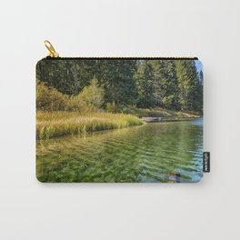Jewel Like Tones of Clear Lake Carry-All Pouch