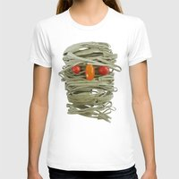 pasta T-shirts featuring A Thing of the Pasta by Marco Angeles
