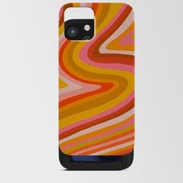 Sunshine Melt – Retro Ochre iPhone Card Case