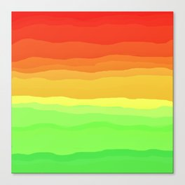 Warm Fall Ombre Canvas Print