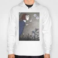 twilight Hoodies featuring Winter Twilight by Judith Clay