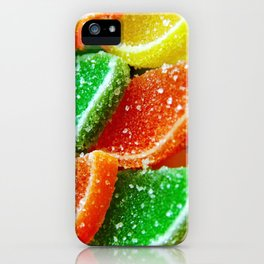 Juicy colorful jelly iPhone Case