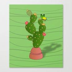 cactus  summer  Canvas Print