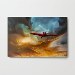 Through The Abyss Metal Print