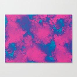 Cotton Candy Clouds Canvas Print