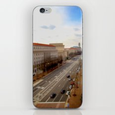 Tilt Shift - Pennsylvania Ave iPhone & iPod Skin