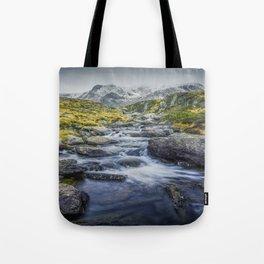 Snowdonia Mountains Tote Bag
